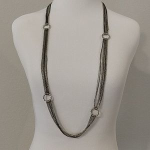 Banana Republic linked chain necklace